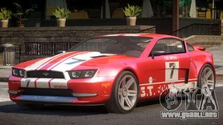 Canyon Car from Trackmania 2 PJ8 para GTA 4