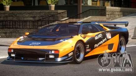 Lamborghini Diablo Super Veloce L9 para GTA 4