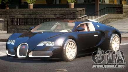 2011 Bugatti Veyron 16.4 para GTA 4