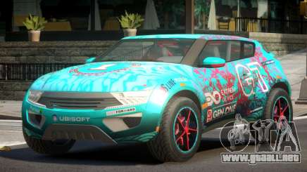 Lagoon Car from Trackmania 2 PJ7 para GTA 4
