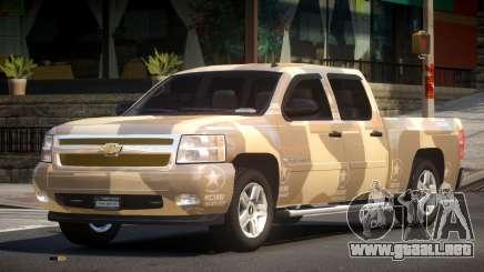 Chevrolet Silverado GST 1500 L2 para GTA 4