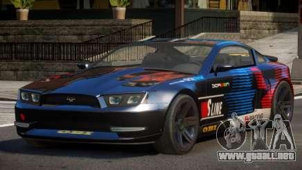 Canyon Car from Trackmania 2 PJ10 para GTA 4