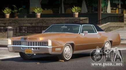 1969 Cadillac Eldorado para GTA 4