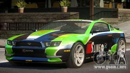 Canyon Car from Trackmania 2 PJ13 para GTA 4