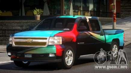 Chevrolet Silverado GST 1500 L5 para GTA 4