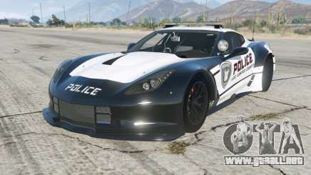 Chevrolet Corvette C7. R GT2 (C7) Pursuit Edition para GTA 5