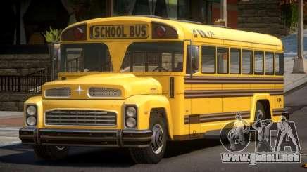 School Bus from FlatOut 2 para GTA 4