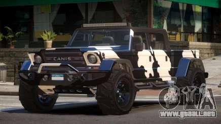 Canis Kamacho L2 para GTA 4
