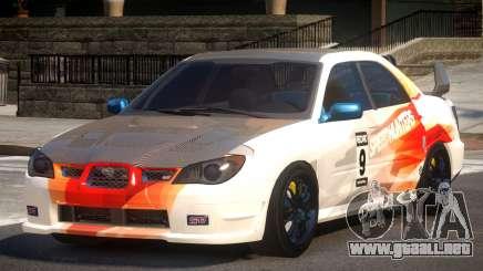 Subaru Impreza STI GS L10 para GTA 4