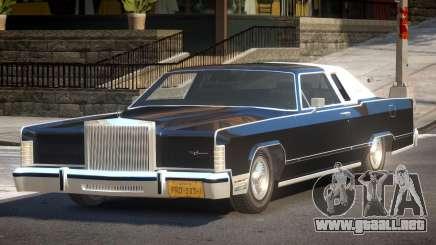 Lincoln Continental Old para GTA 4