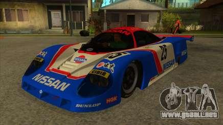 1989 Nissan R89C Le Mans para GTA San Andreas