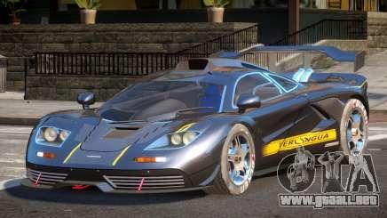 1998 McLaren F1 PJ8 para GTA 4