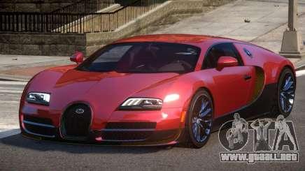 Bugatti Veyron PSI para GTA 4