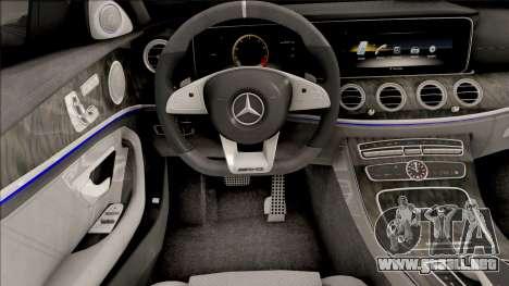 Mercedes-Benz E63S AMG 2020 para GTA San Andreas