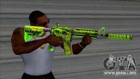 Toxicator Trio M4A1 (Fixed) para GTA San Andreas