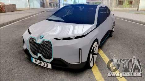 BMW Vision iNEXT 2018 Concept para GTA San Andreas