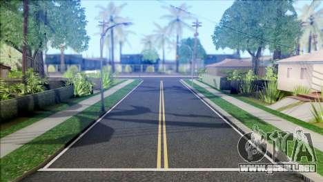 New Roads in Los Santos (V Styled) v1.0 para GTA San Andreas