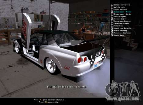 Tuning Mod v3.0.1 para GTA San Andreas