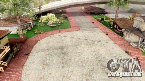 Modern Grove Street para GTA San Andreas