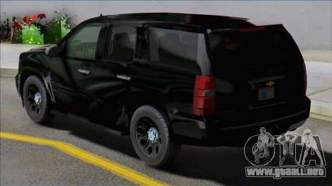 Chevrolet Tahoe 2012 ImVehFT para GTA San Andreas