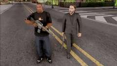 John Wick Bodyguard Mod para GTA San Andreas