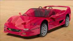 Ferrari F50 Spider 1995 [RHA] para GTA San Andreas