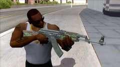 CSGO AK-47 Emerald Pinstripe para GTA San Andreas