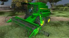 John Deere 1470 Combine Harvester para GTA San Andreas