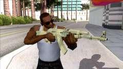 CSGO AK-47 Safari Mesh para GTA San Andreas