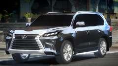 Lexus LX570 ES para GTA 4