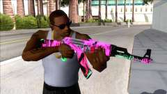 CSGO AK-47 Neon Revolution para GTA San Andreas