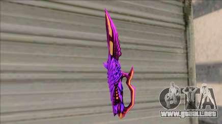 Deagle 3 Sinners Pride Knife para GTA San Andreas