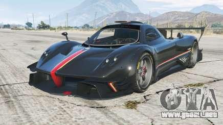 Pagani Zonda Revolucion 2013 para GTA 5
