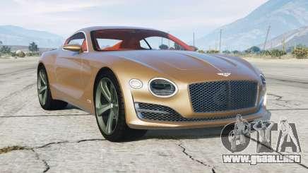 Bentley EXP 10 Speed 6 2015 para GTA 5