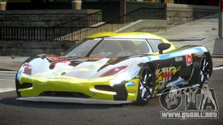 Koenigsegg Agera Racing L3 para GTA 4