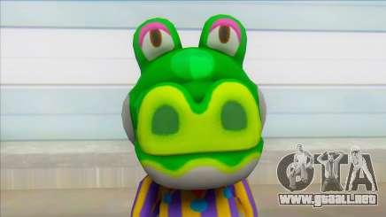 Alligators Skin Pack Animal Crossing Boots para GTA San Andreas