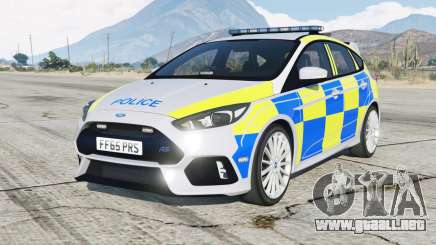 Ford Focus RS Police para GTA 5