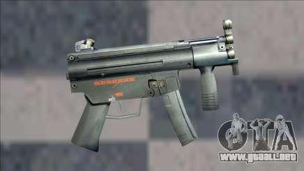 Half Life 2 Beta Weapons Pack Mp5k para GTA San Andreas