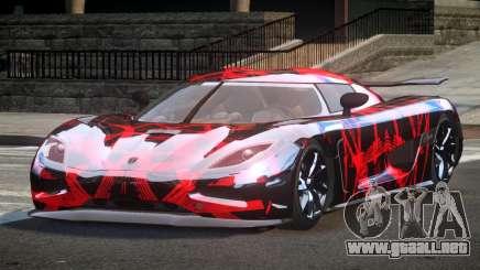 Koenigsegg Agera Racing L2 para GTA 4