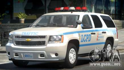 Chevrolet Tahoe GMT900 2007 LCPD para GTA 4