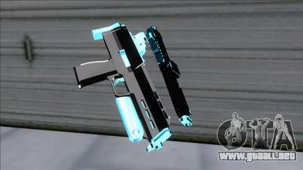 Weapons Pack Blue Evolution (microuzi) para GTA San Andreas