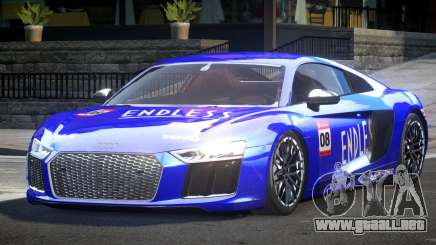 Audi R8 SP Racing L7 para GTA 4