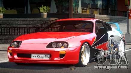 Toyota Supra RZ PJ9 para GTA 4