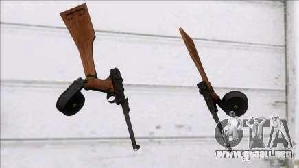 Screaming Steel Luger LP-08 para GTA San Andreas