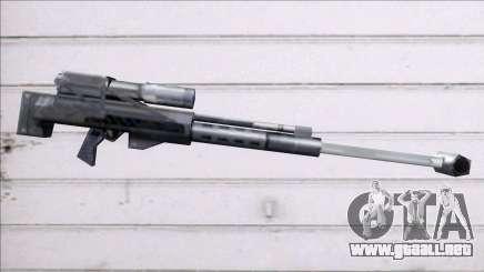 Renegade ramjet rifle para GTA San Andreas