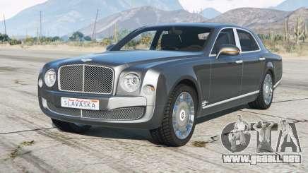 Bentley Mulsanne 2014 para GTA 5