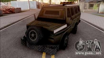 C&C Generals Battle Bus para GTA San Andreas