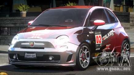Fiat Abarth Drift L5 para GTA 4