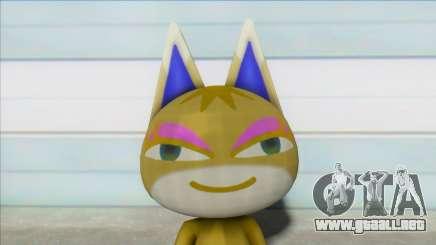 Animal Crossing Nude Cat Skin V17 para GTA San Andreas