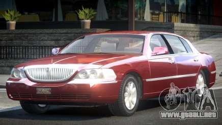 Lincoln Town Car SE para GTA 4